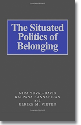 The Situated Politics of Belonging, London: Sage, 2006. Co-editor